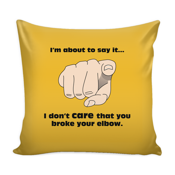 Elbow Pillow Cover