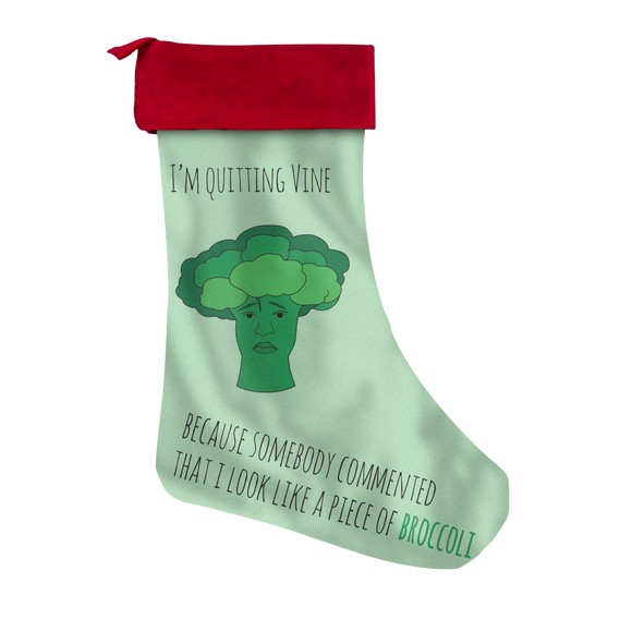 Broccoli Christmas Stocking