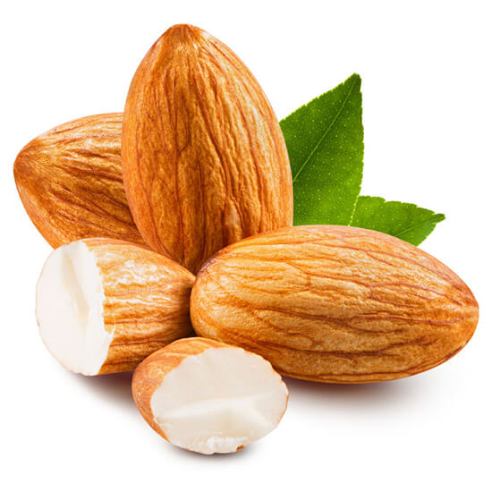 Almond meal natural skincare ingredient