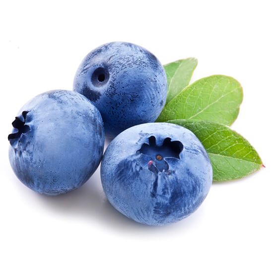 Blueberry natural skincare ingredient