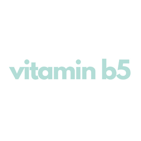 vitamin b5 pantheol skincare ingredient
