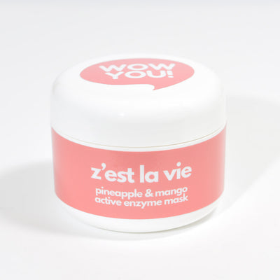 WOW YOU Z'est la Vie - Natural Enzyme Gel Face Mask with Pineapple & Mango product