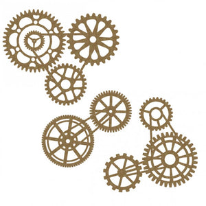 Creative Embellishments Chipboard - Gear Cluster Set