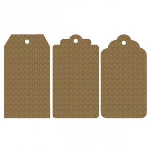 Creative Embellishments Chipboard - Large Tag Set