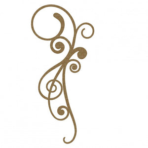 Creative Embellishments Chipboard - Vintage Flourish #1
