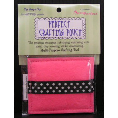 ScraPerfect Perfect Crafting Pouch - Strap-N-Tap