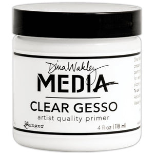 Dina Wakley Media - Clear Gesso