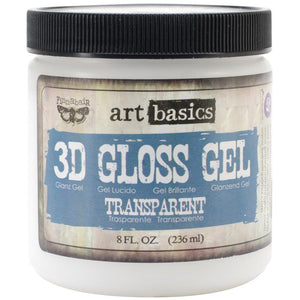 Finnabair Art Basics 3D Gloss Gel 8 oz.