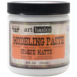 Finnabair Art Basics Modeling Paste 8 oz.