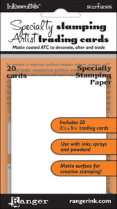 Inkssentials Specialty Stamping Paper - Artist Trading Cards