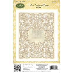 JustRite Background Rubber Stamp - Lace