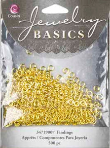 Cousin Jewelry Basics Jump Ring 4 mm Gold
