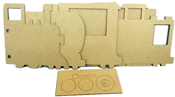 Polar Express Train Alterable Chipboard Album