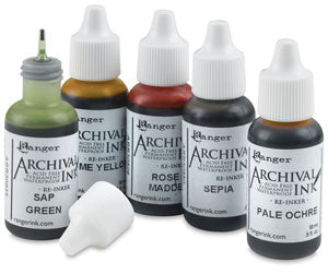 Archival Ink Pad Reinkers by Ranger Ink