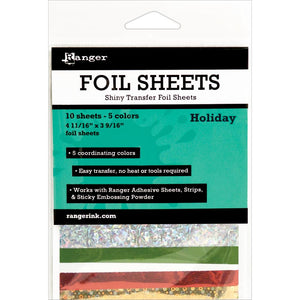 Ranger Foil Sheets - Holiday