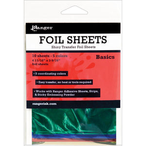 Ranger Foil Sheets - Basics