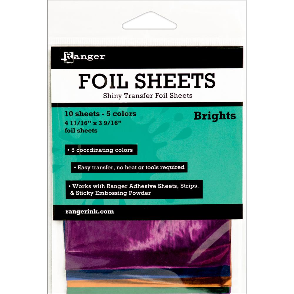 Ranger Foil Sheets - Brights