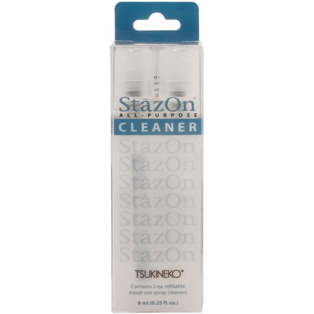 StazOn All Purpose Stamp Cleaner Spritzers 2 pk.