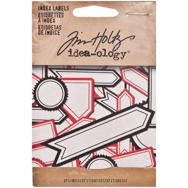 Tim Holtz Idea-ology Index Labels - Retired
