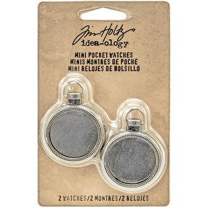 Tim Holtz Idea-ology Mini Pocket Watches