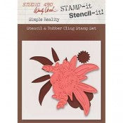 Wendy Vecchi Studio 490 Stamp-it Stencil-it - Simple Reality