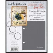 Wendy Vecchi Studio 490 Art Parts - Small Stamp Storage Binder