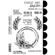 Wendy Vecchi Studio 490 Rubber Stamp - Special Art