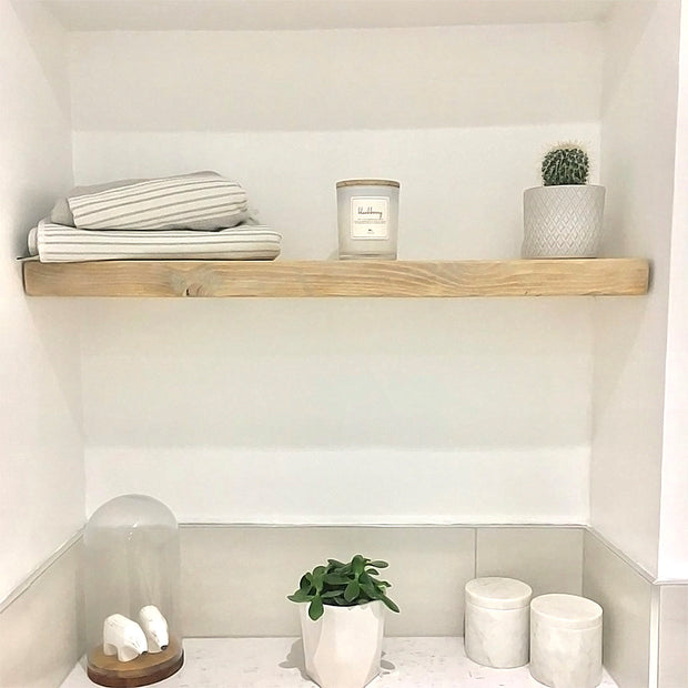 Shabby Chic Floating Shelf | 15cm Depth