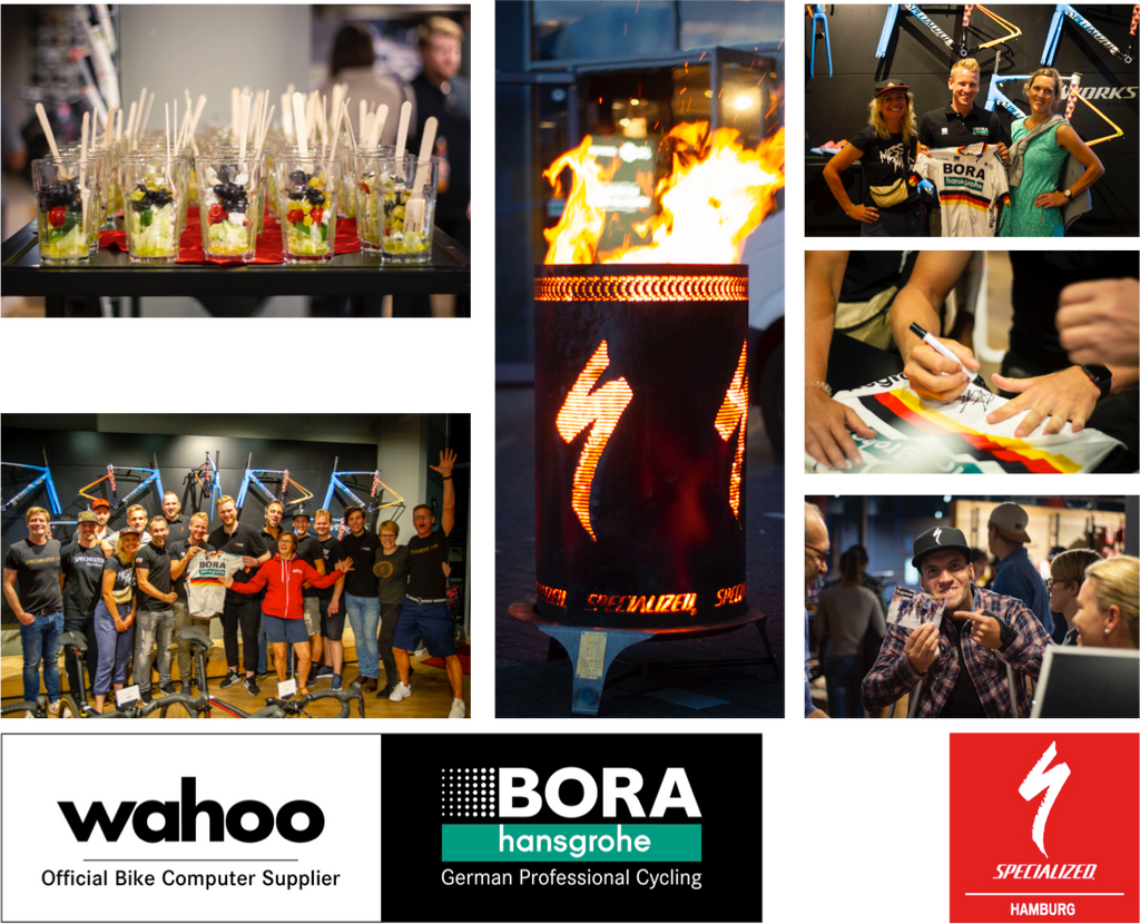 23.08.19: Surprise Party - BORA hansgrohe x wahoo x Specialized Hamburg