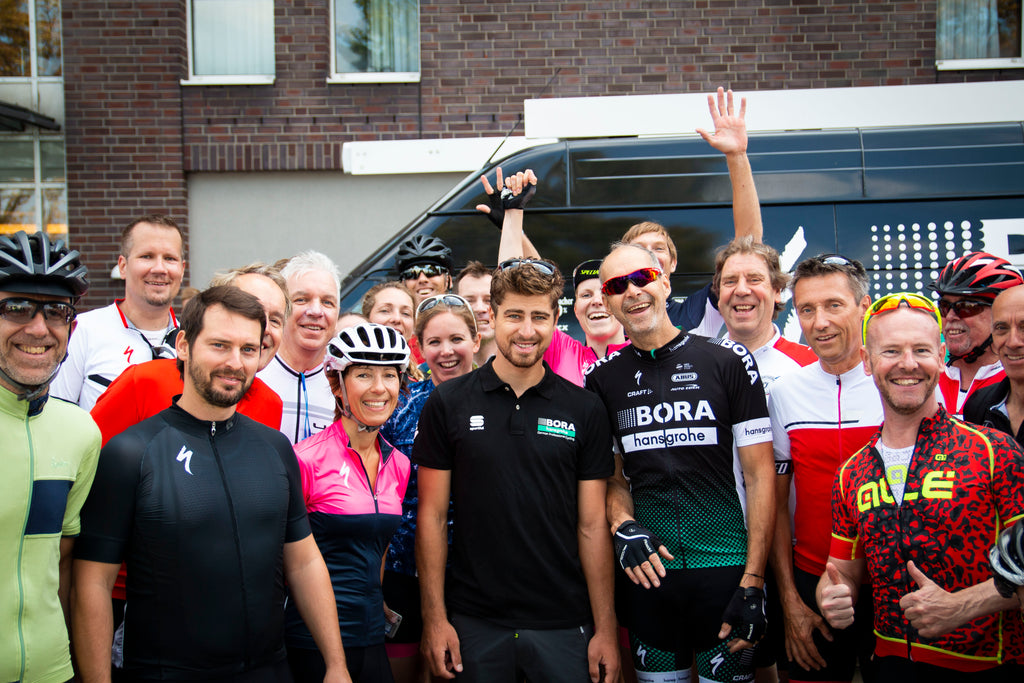 Surprise and Coffeeride zum Team BORA hansgrohe