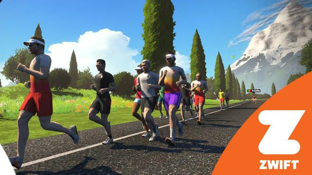 20.03.18: Specialized Hamburg beim Zwift Run Open Event