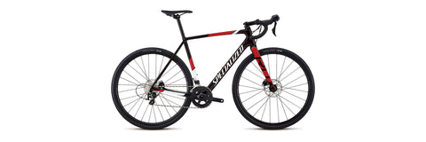 Specialized CRUX SPORT REDTNT/METWHTSIL/FLORED 52