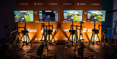Zwift Stationen in der Alten Oberpostdirektion Hamburg