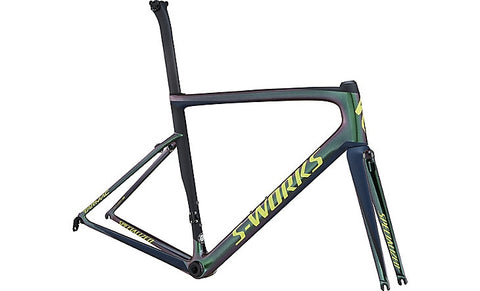 Specialized TARMAC S-WORKS MEN SL6 FRMSET CMLGRN/CSTBLU/BLK