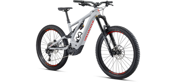 Specialized Turbo Kenevo Gen II Dove Grey / Rocket Red
