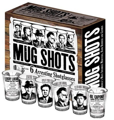 Mughshot Shot Glass