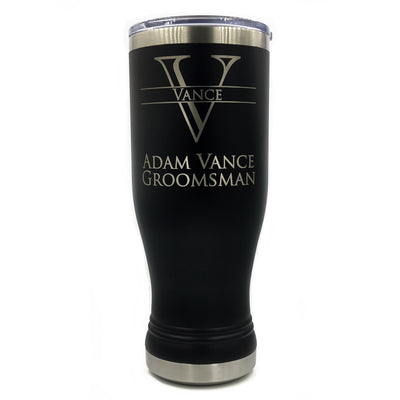 Custom Thermal Tumbler with Monogram