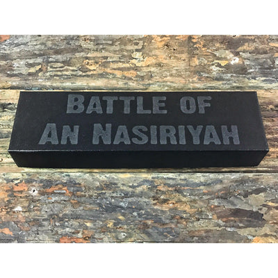 Gloss Red Battle of An Nasiriyah .50 Caliber Bottle Opener