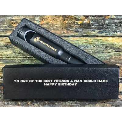 Matte Black MARINES 20mm Bottle Opener