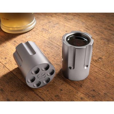 Pair of Six Shooter Shot Glasses