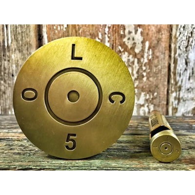 Custom .50 Caliber Coasters -- Set of 4