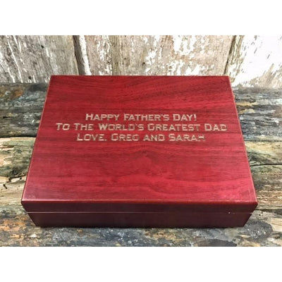 Father's Day Gift Pack with Matte Black Bottle Opener