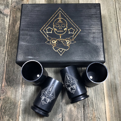Marine Raider Challenge 30mm Shot Glass Bundle