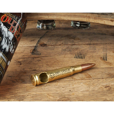 Red Circle Foundation 50 Caliber Bullet Bottle Opener