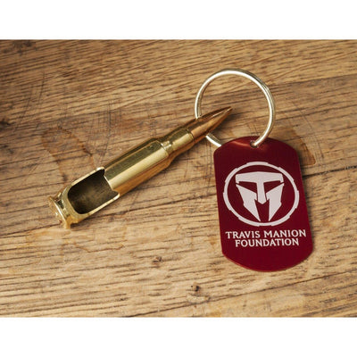 Travis Manion Foundation 7.62mm Keychain Bottle Opener