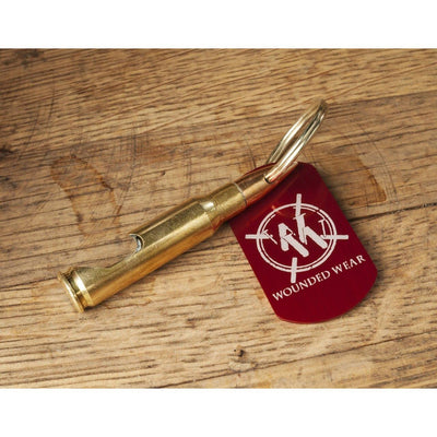 Wounded Wear 7.62mm Keychain Bottle Opener