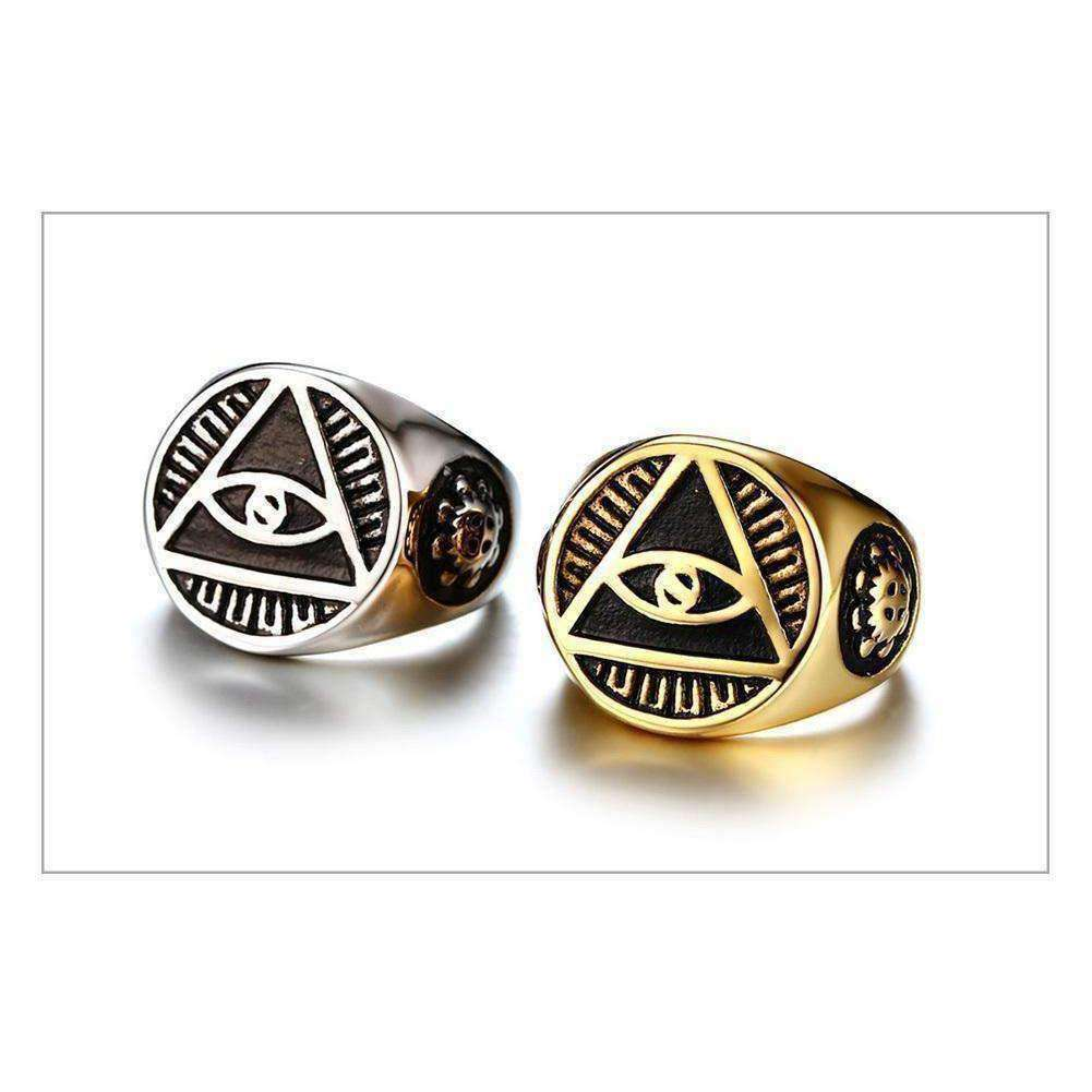 Illuminati-Men's Ring-Similar to but not affiliated with-Vitaly-Herschel