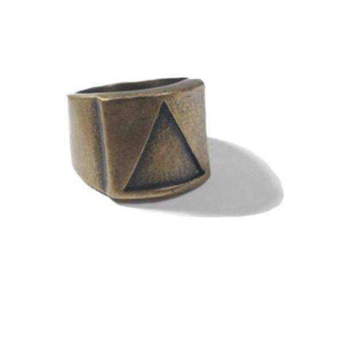 Pyramid [Solid]-Men's Ring-Similar to but not affiliated with-Vitaly-Herschel