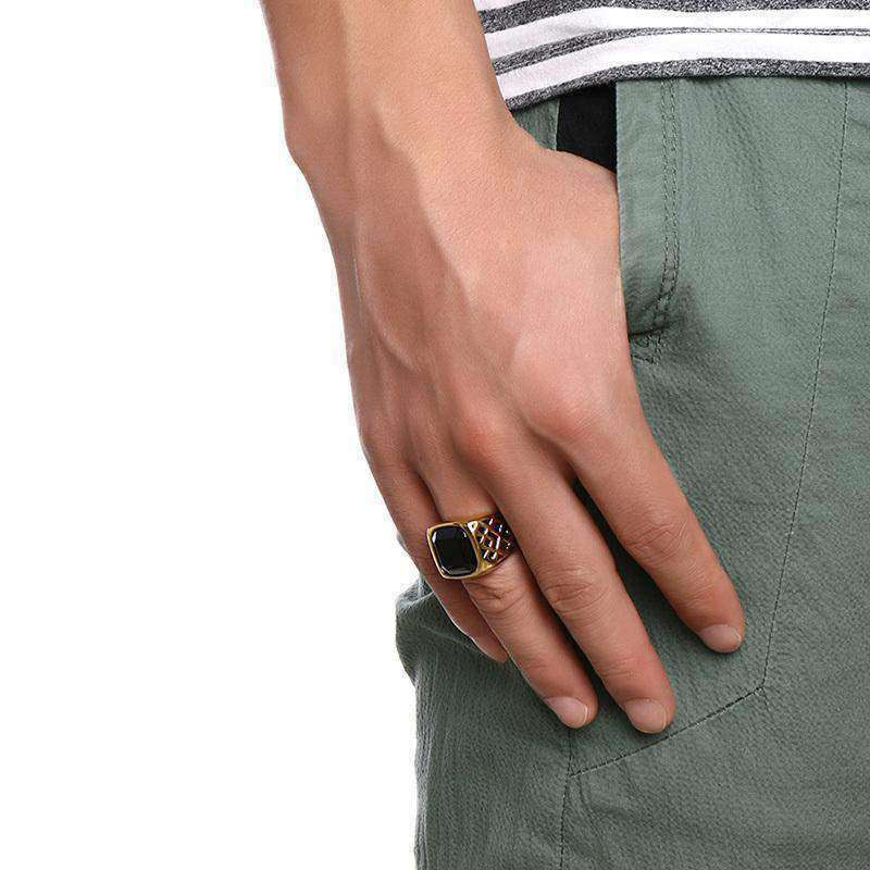 Troy Jewel-Men's Ring-Similar to but not affiliated with-Vitaly-Herschel