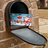 Weekly Holiday Magic Postcards mailbox example - a preschool subscription product from MyImaginationMail.com